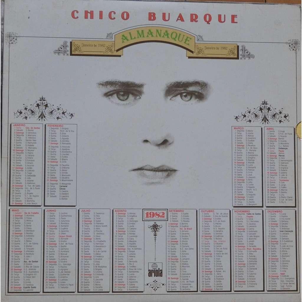 CHICO BUARQUE almanaque