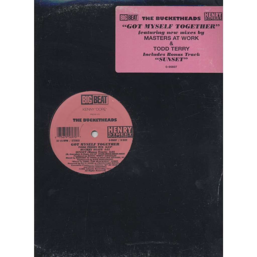 Kenny Dope* Presents The Bucketheads Got Myself Together x4 / Sunset
