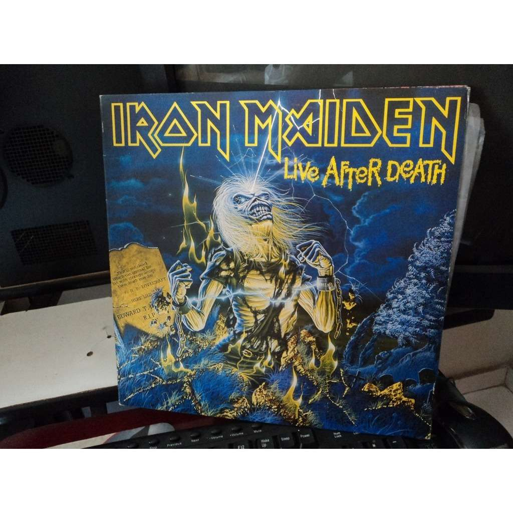 Iron Maiden Live After Death (Brazil release 1985)