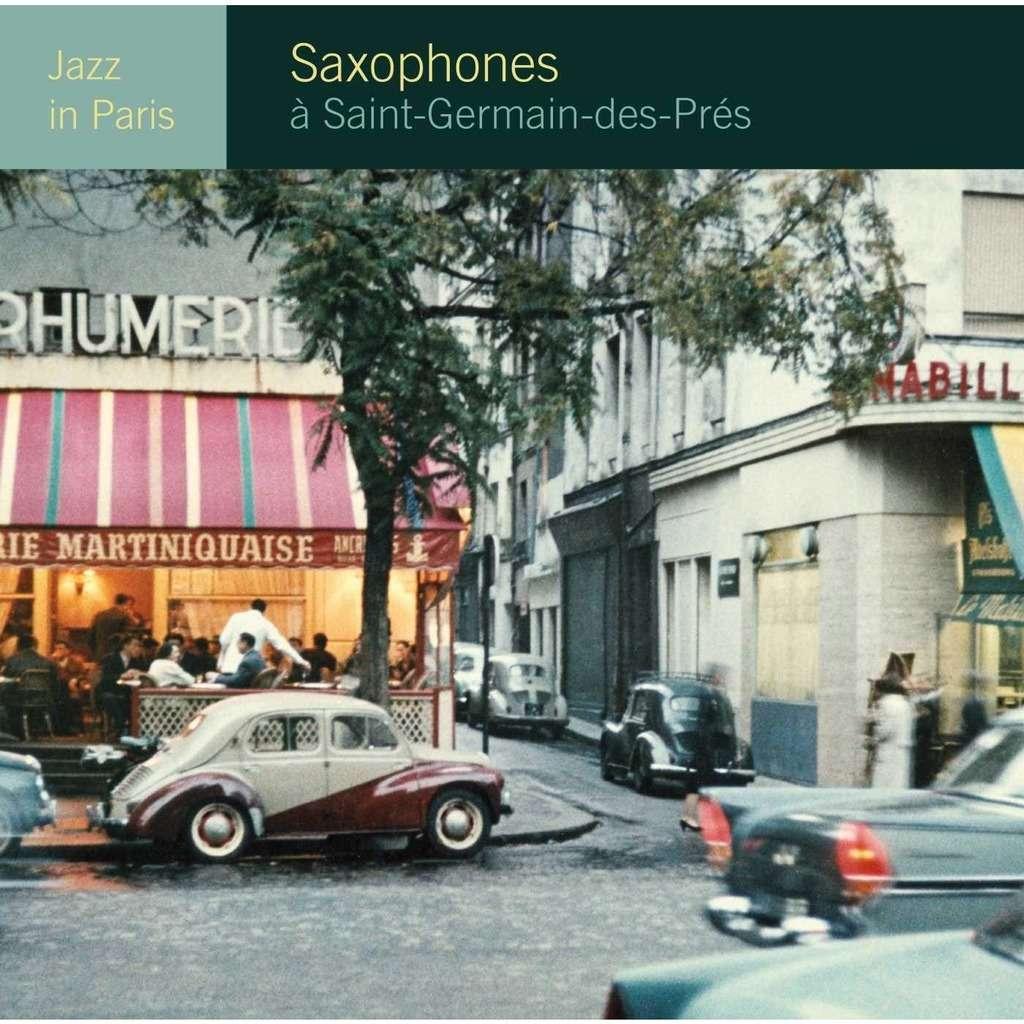 jazz in paris saxophones à st germain des près