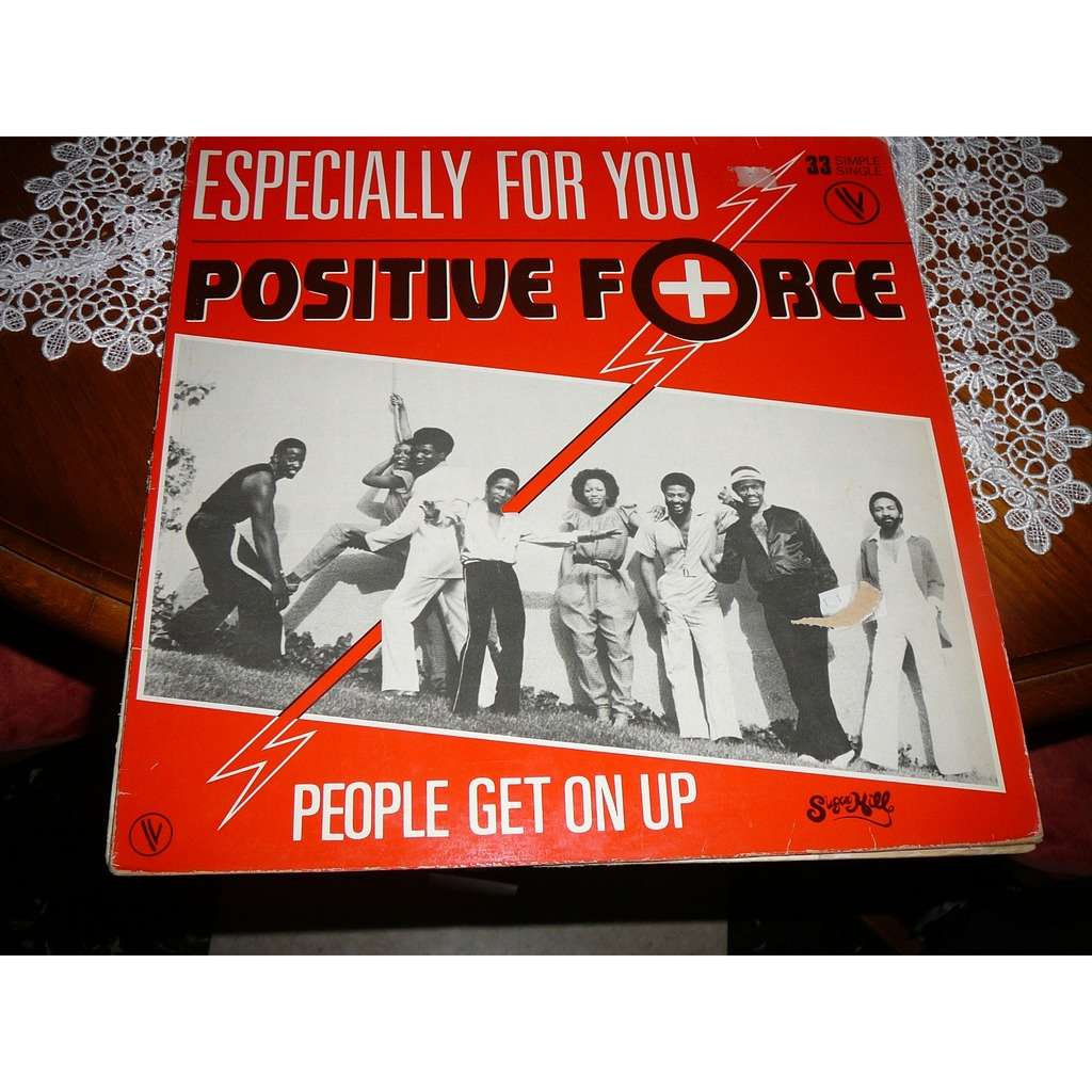POSITIVE FORCE especially for you / people get on