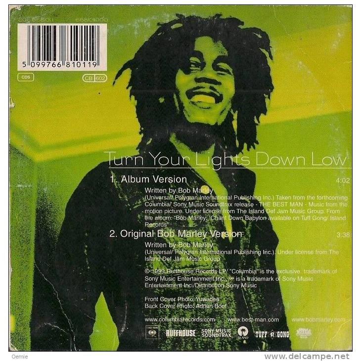 bob marley BOB MARLEY featuring lauryn hill turn your lights down low