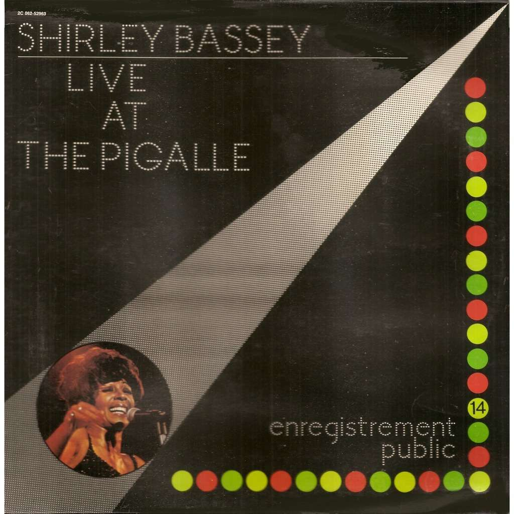 ff2202e20d7 Shirley BASSEY Live at The Pigalle