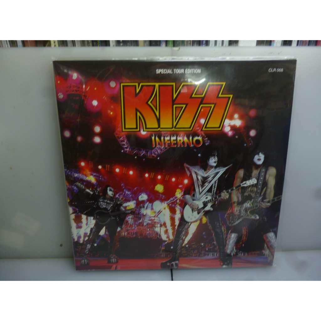 Kiss Inferno. BMO Harris Bank Center, Rockford, IL, USA 2016. EU 2017 Gatefold 2LP Picture Vinyl+Poster.