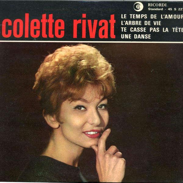 Colette Rivat Le temps de l'amour