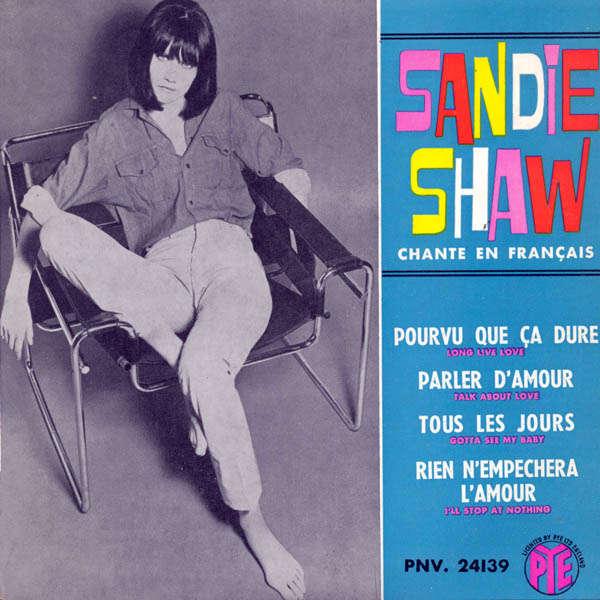 Sandie Shaw chante en français