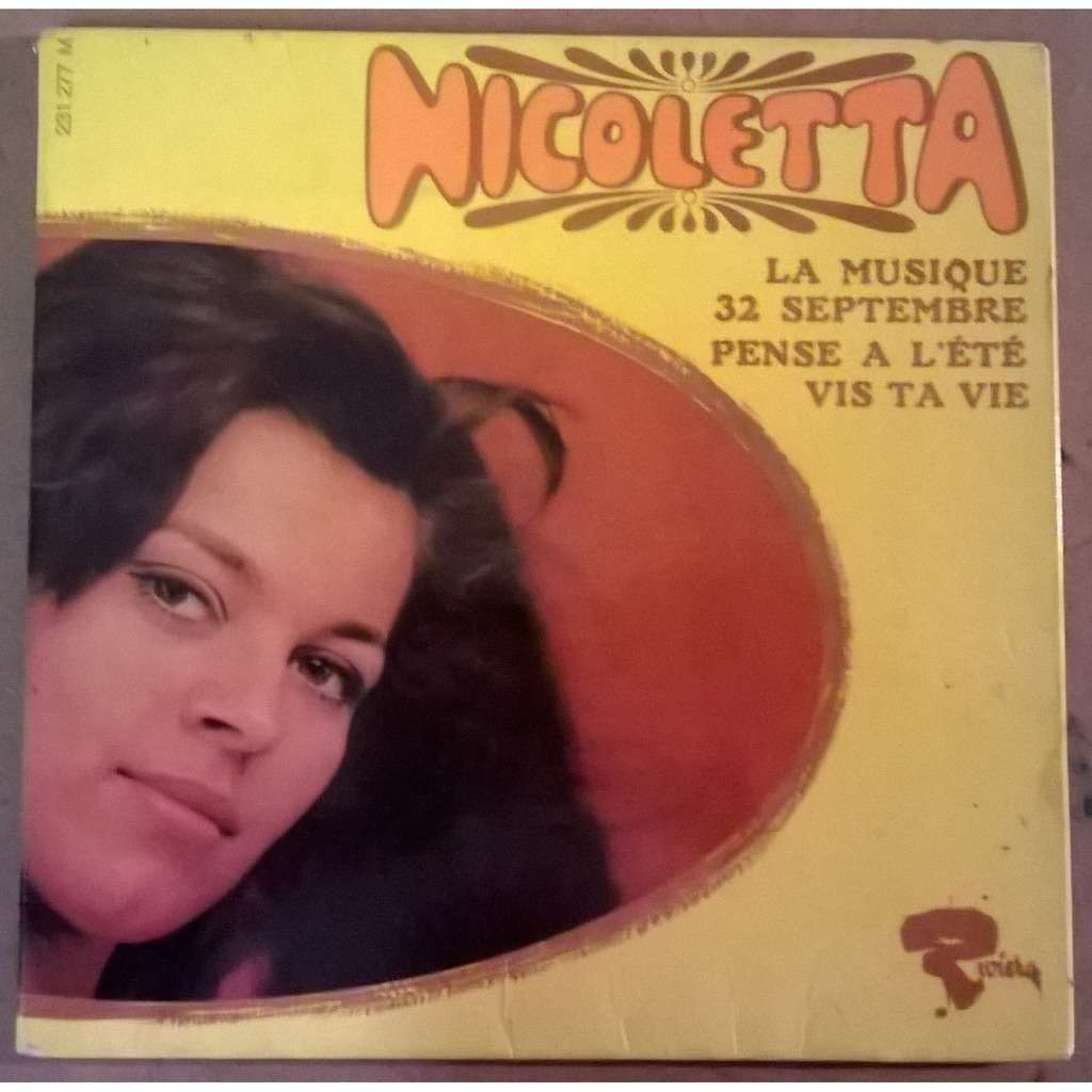 Nicoletta Vol 2: La Musique