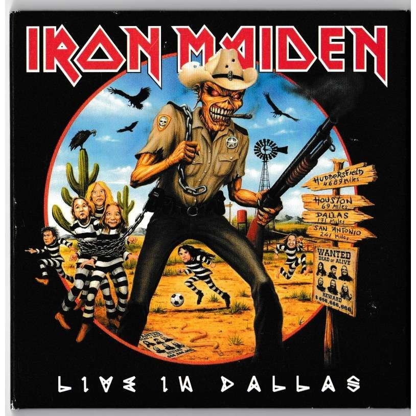 Iron Maiden Live in Dallas (2xcd) Ltd Edit Digipack -E.U