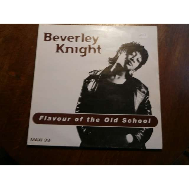 beverley knight Flavour of the old school