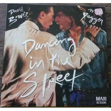 DAVID BOWIE duet MICK JAGGER DANCING IN THE STREET