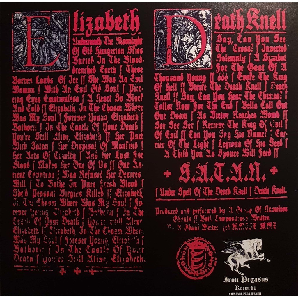 Ghost Elizabeth / Death Knell (7') Ltd Edit -E.U