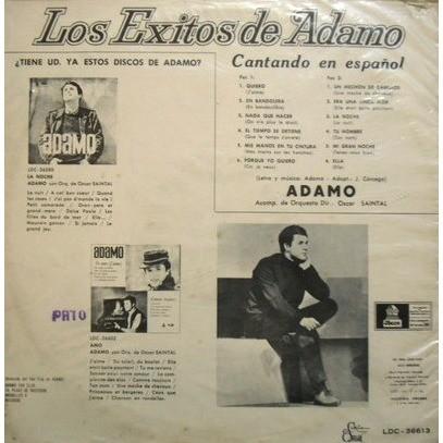 salvatore adamo los exitos de adamo - cantando en espanol