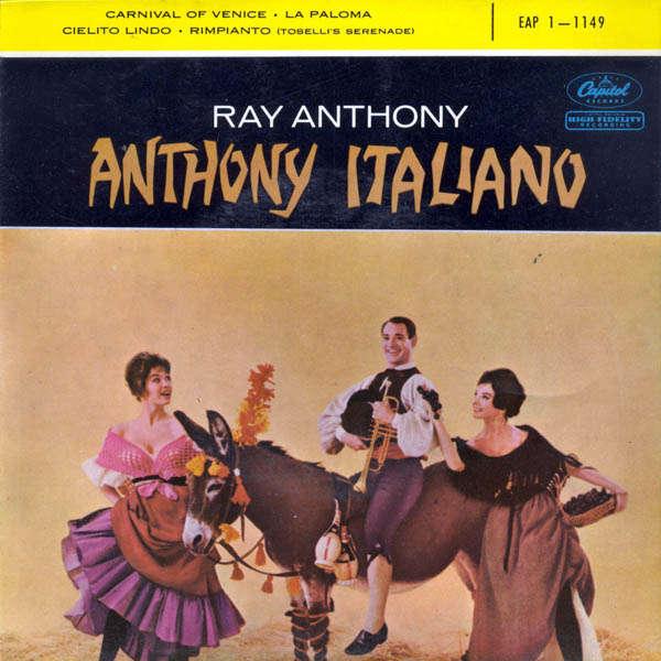 ray anthony Anthony italiano