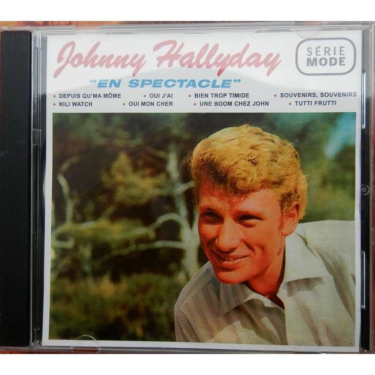 johnny hallyday JOHNNY HALLYDAY EN SPECTACLE cd