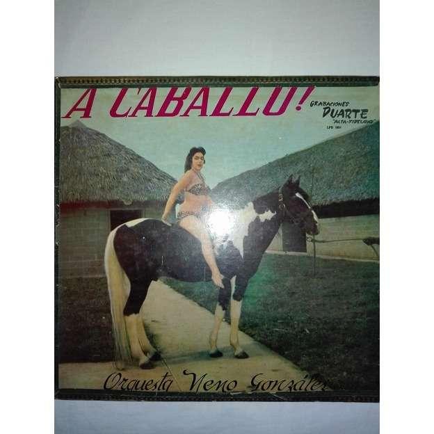 Neno Gonzalez a caballo