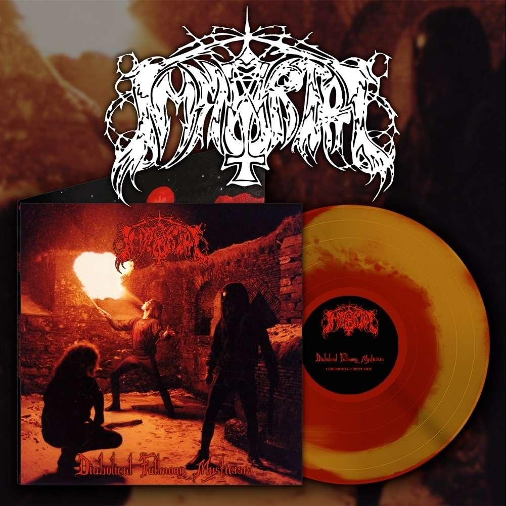 IMMORTAL Diabolical Fullmoon Mysticism. Red&Gold Vinyl