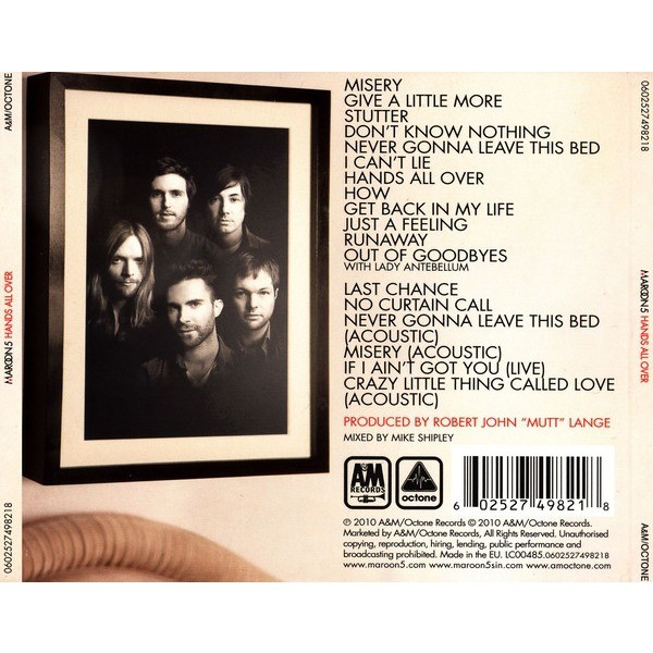 Hands all over - Maroon 5 - ( ...