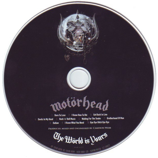 Motörhead The Wörld Is Yours