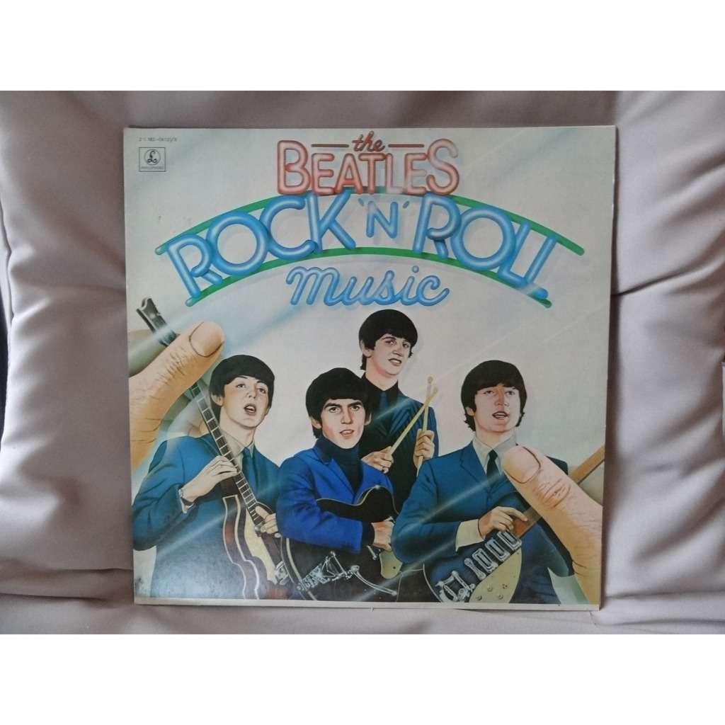 the beatles rock'n'roll music