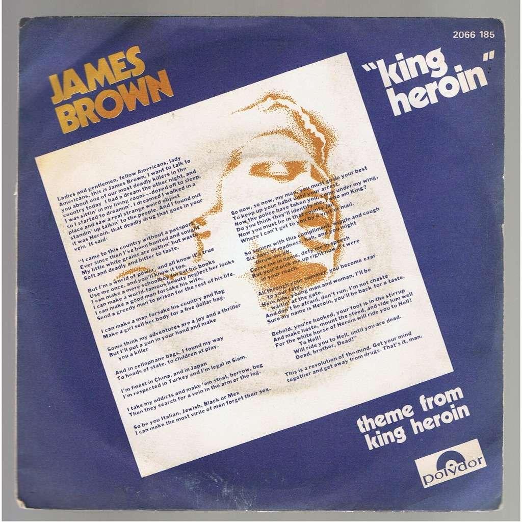 JAMES BROWN KING HEROIN / THEME FROM KING HEROIN