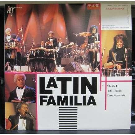 Sheila E./Tito Puente/Pete Escovedo Latin Familia -sample promo-
