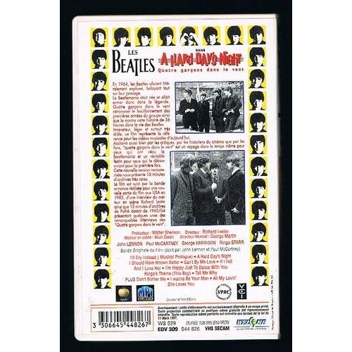 BEATLES ( THE ) A HARD DAY'S NIGHT (4 garçon dans le vent ) Edition Spéciale inclus 18 minutes d'archive rares
