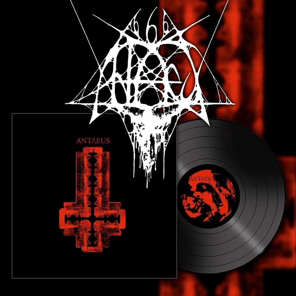 ANTAEUS Cut Your Flesh And Worship Satan. Black Vinyl