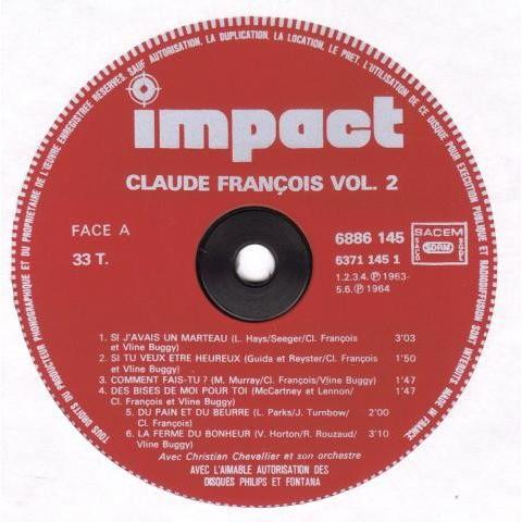 claude françois volume 2 - Si J'Avais Un Marteau