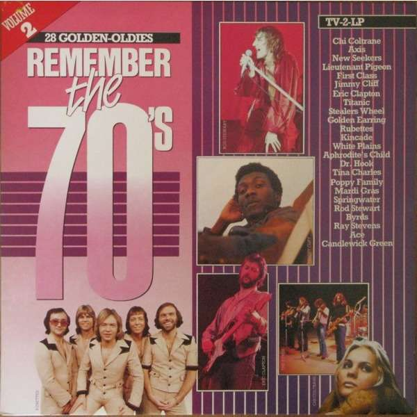 Chi Coltrane and 27 Various Artists Go Like Elijah - Remember The 70's Volume 2 - ( 28 Tracks ) -