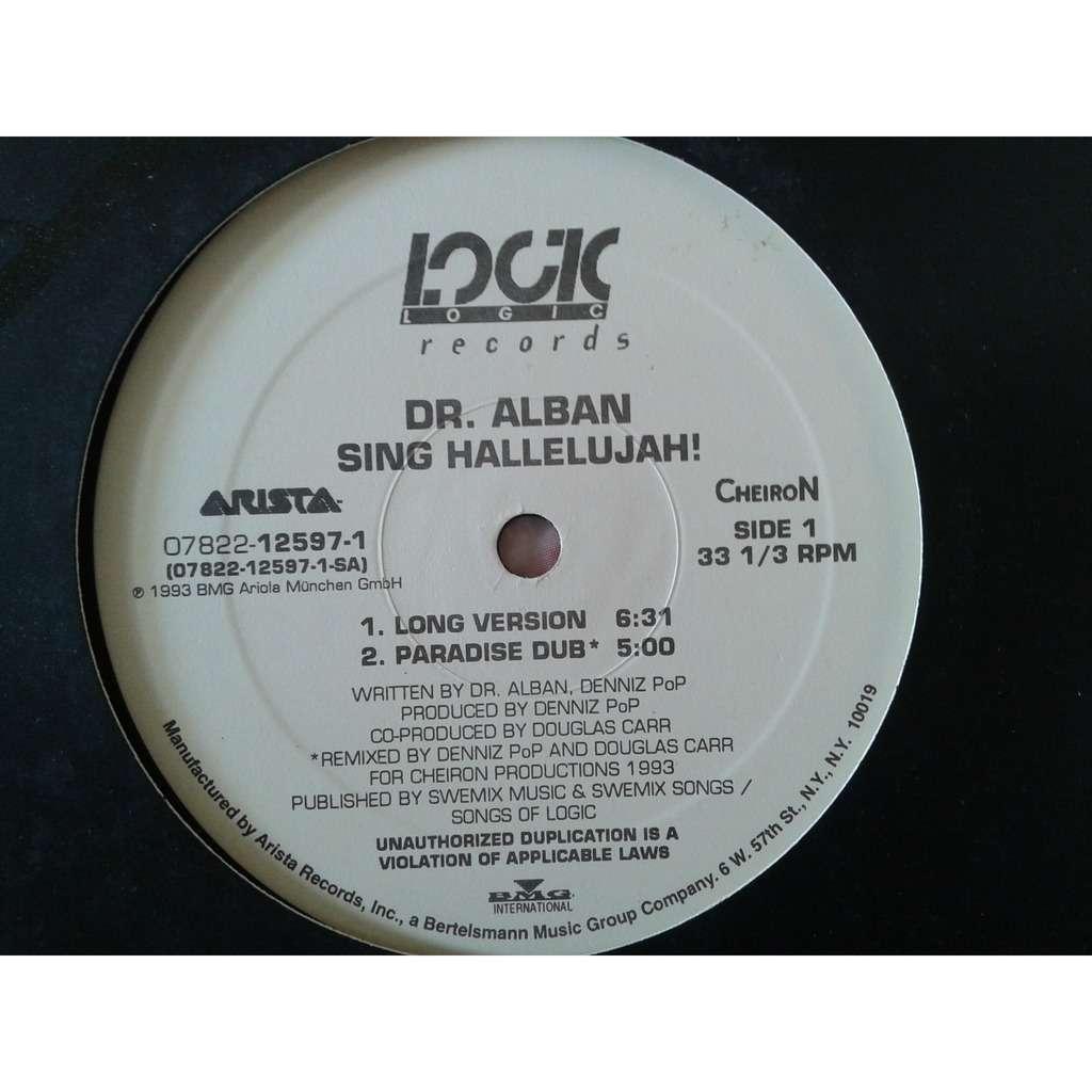 dr. alban sing hallelujah!