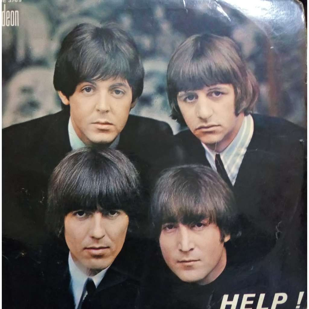 Beatles Help! (French 60s)