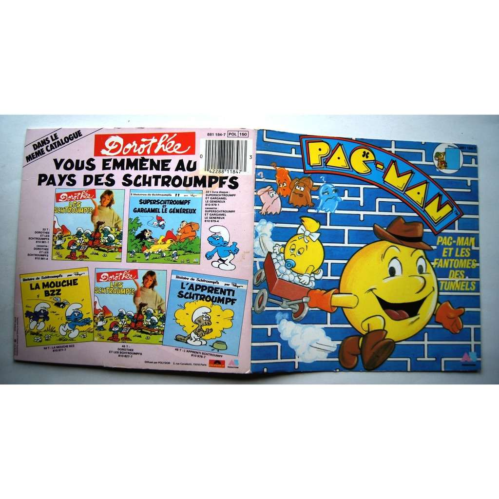 WILLY PAC MAN ET LES FANTOMES DES TUNNELS