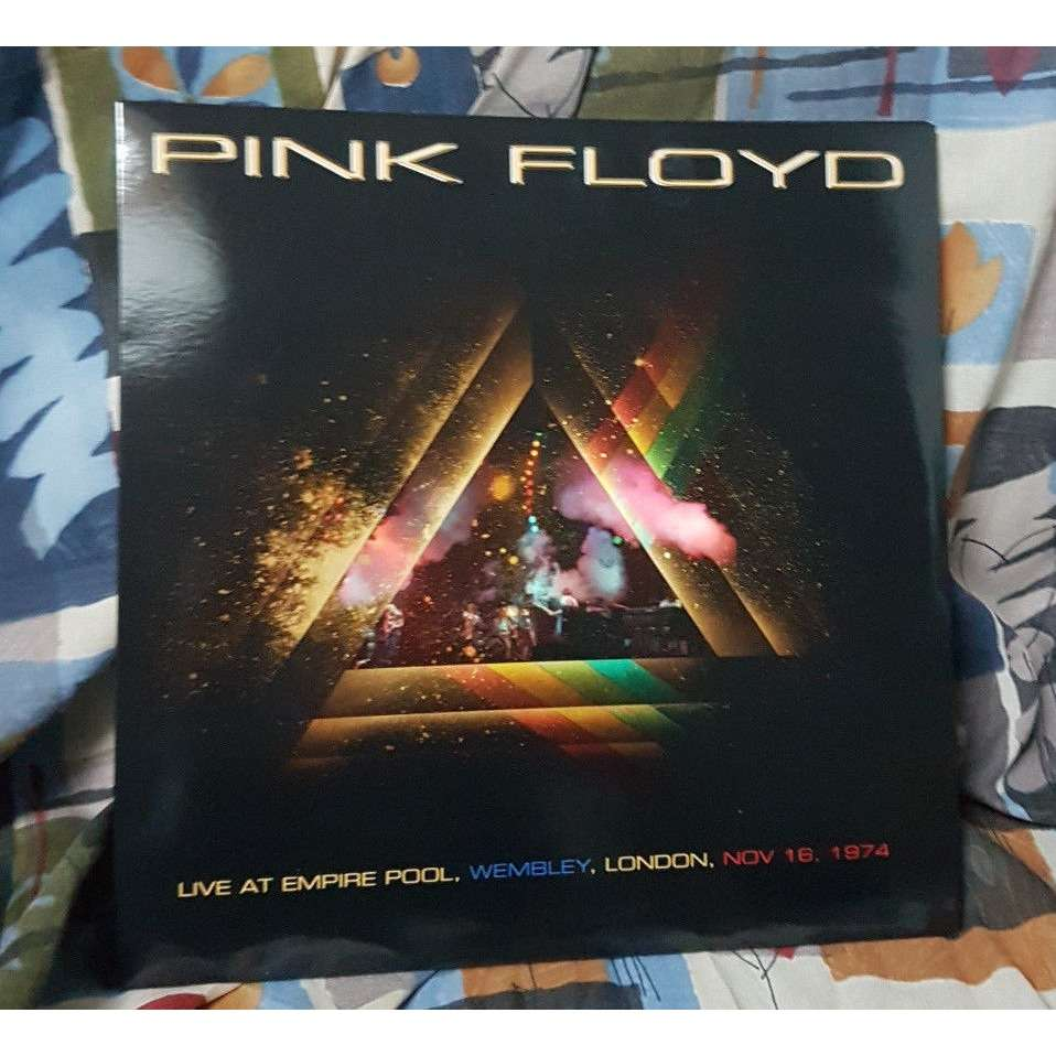 pink floyd Live At Empire Pool,Wembley,London,Nov 16,1974 (3LP)