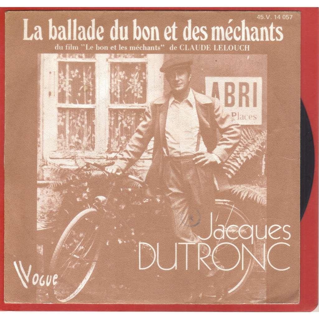 jacques dutronc LA BALLADE DU BON ET DES MECHANTS