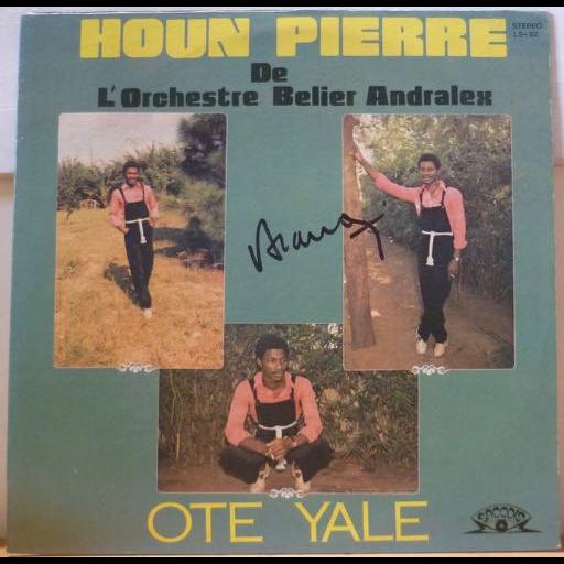 HOUON PIERRE Ote yale