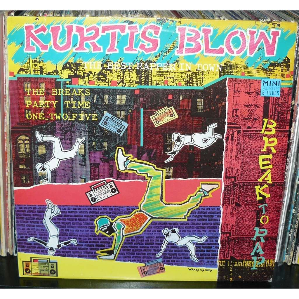 kurtis blow break to rap