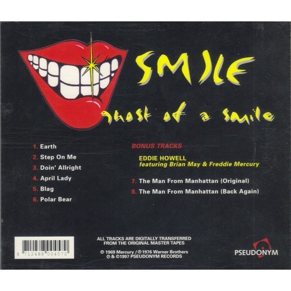 Smile Ghost Of A Smile (Freddy Mercury,Brian May,Roger Taylor)