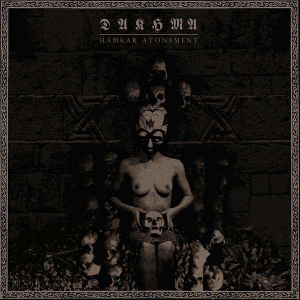 DAKHMA Hamkar Atonement. Black Vinyl