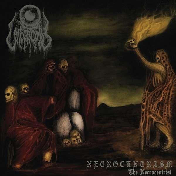 UTTERTOMB Necrocentrism: The Necrocentrist. Black Vinyl