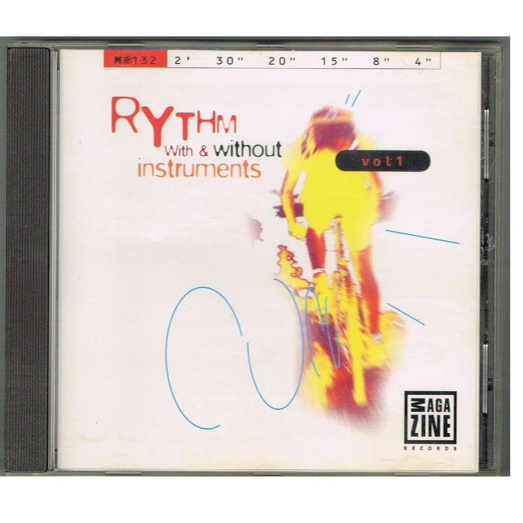 J.L Witas - J. Marnay Rythm With & Without instruments Volume 1