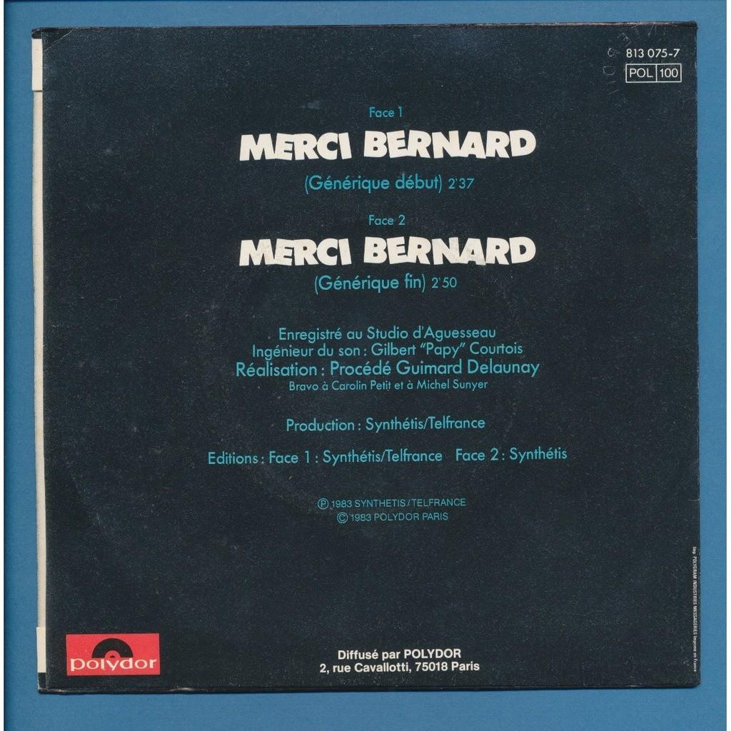 PROCEDE GUIMARD DELAUNAY merci bernard