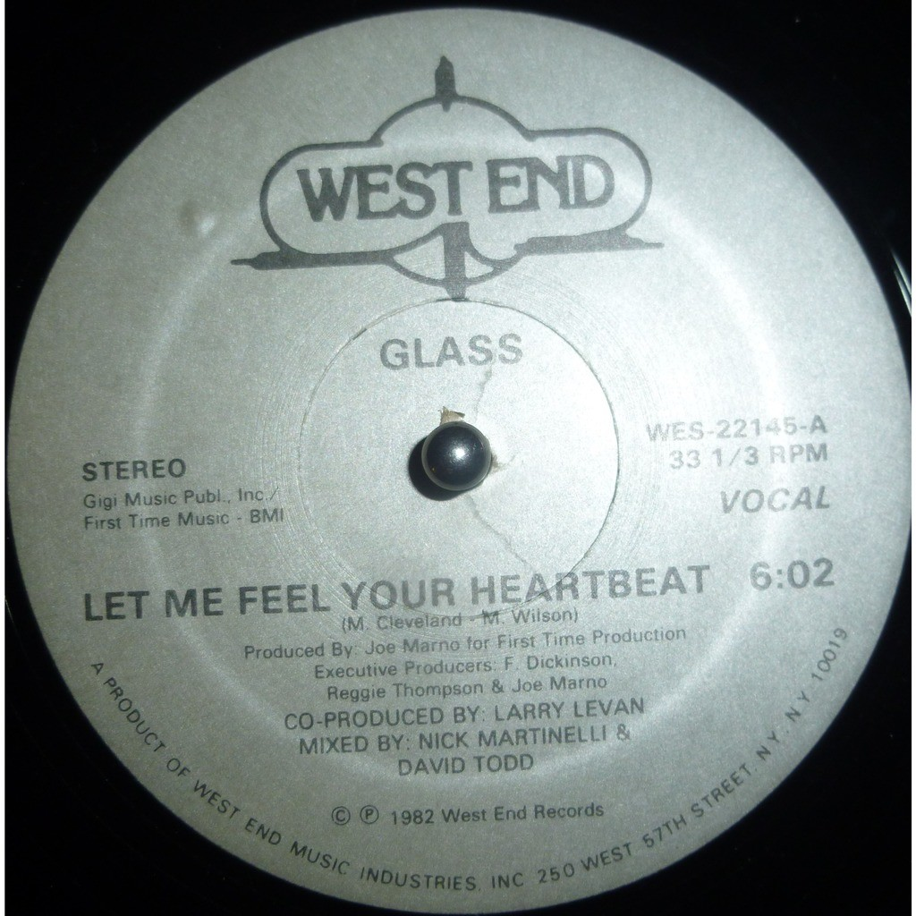 Glass Let Me Feel Your Heartbeat