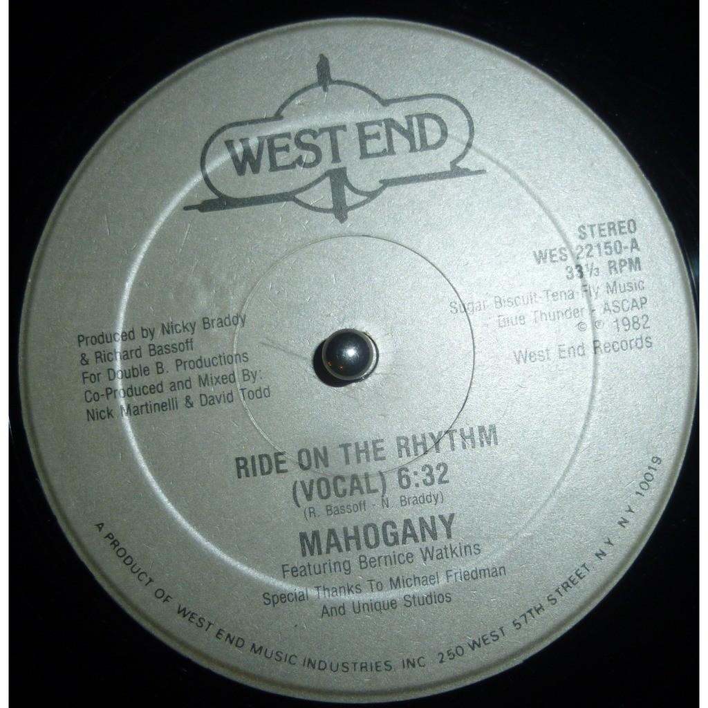Mahogany Ride On The Rhythm