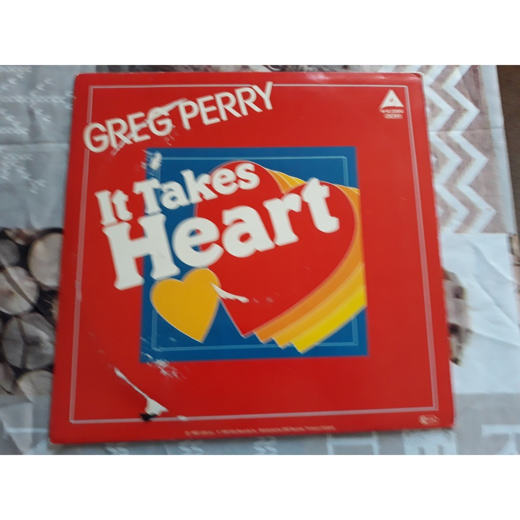 Greg Perry - It Takes Heart (12, Maxi) 1982 Greg Perry - It Takes Heart (12, Maxi) 1982