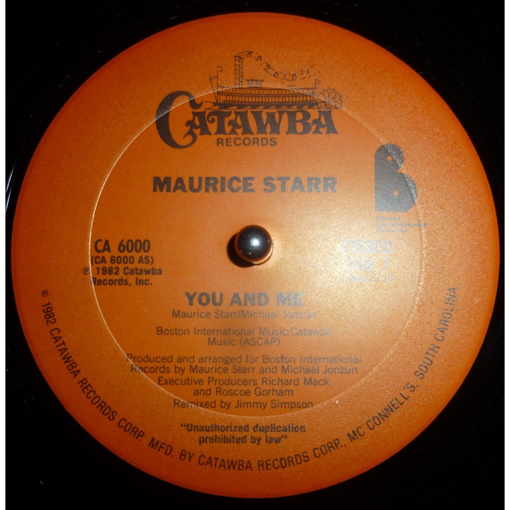 maurice starr You And Me