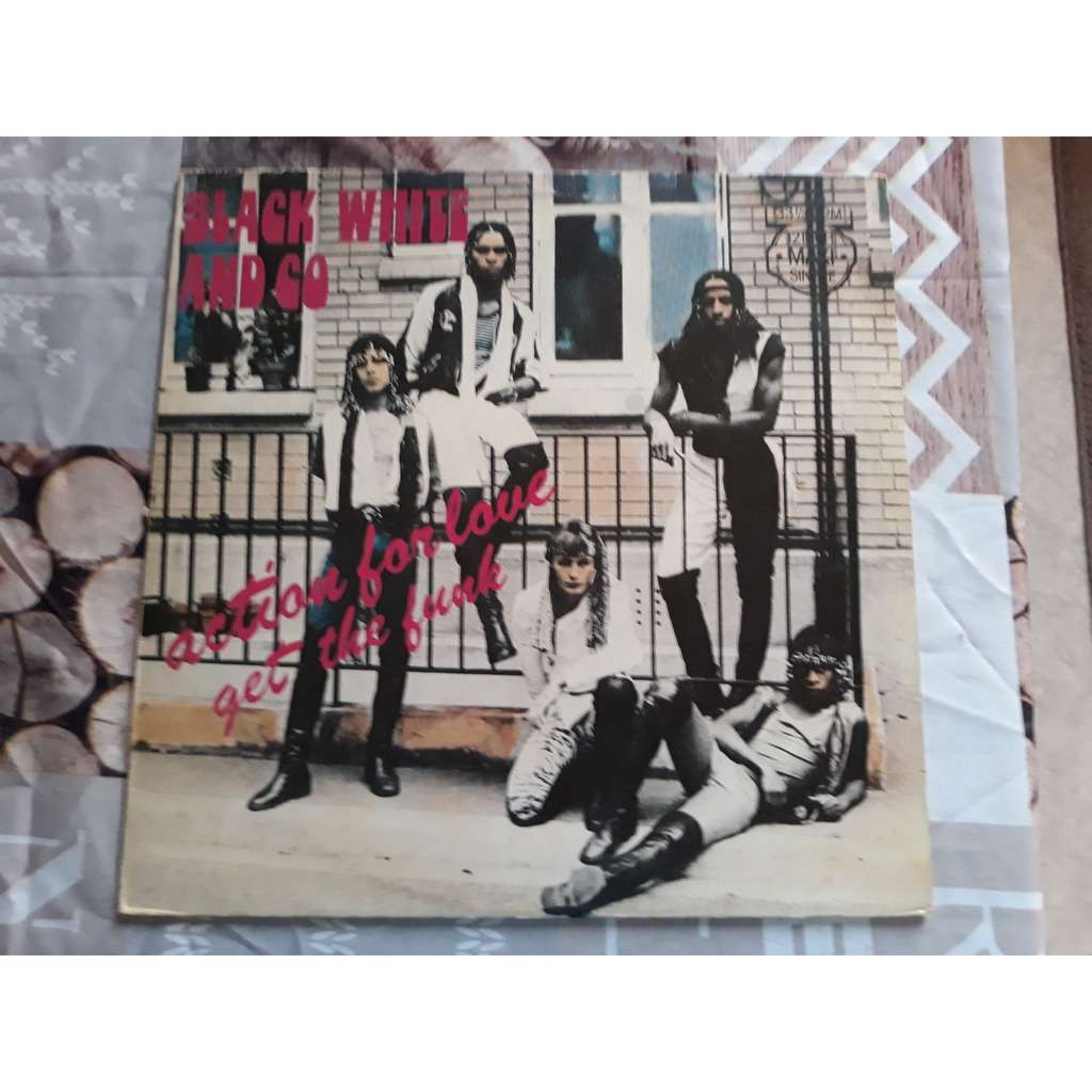 Black White And Co - Action For Love / Get The Fun Black White And Co - Action For Love / Get The Funk (12, Maxi)
