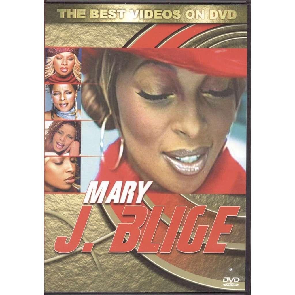 MARY J BLIGE the best videos on dvd
