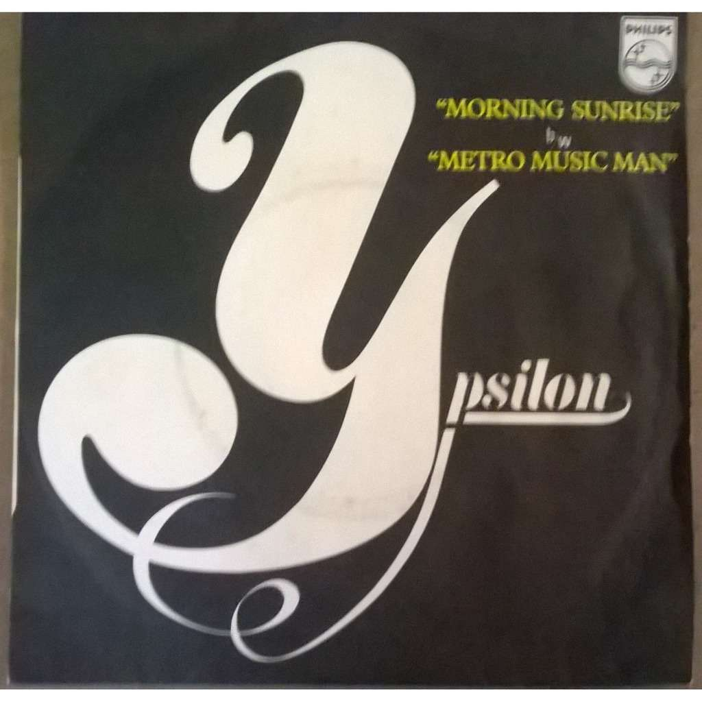 Ypsilon Morning Sunrise b/w Metro Music Man