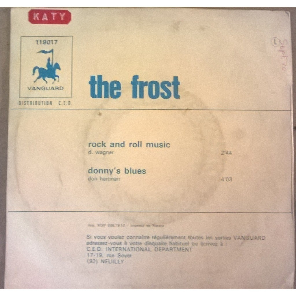The Frost Rock & Roll Music