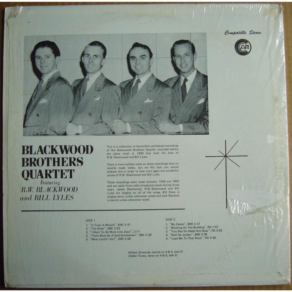 BLACKWOOD BROTHERS QUARTET Vol.1 USA CAM BB1400 MINT
